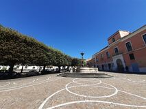 Free Italy : Urban Landscape In Giffoni Valle Piana,May 4,2020. Stock Image - 181794641