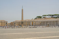Italy - Vatican City - St. Peter's Square Stock Images