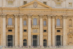 Italy - Vatican City - St. Peter's Square Stock Image