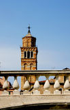 Italy. Venetian  bridge and tower Royalty Free Stock Photo