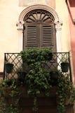 italy venetian fönster Fotografering för Bildbyråer