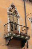 italy venetian fönster Royaltyfria Foton