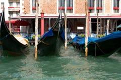 Italy. Venetian gondolas Stock Photography