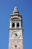 Italy. Venetian  tower  clock Stock Image