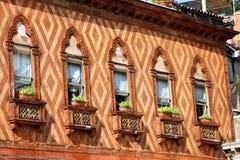 Italy. Venetian  windows Royalty Free Stock Photography