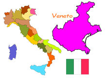 Italy, Veneto Royalty Free Stock Images