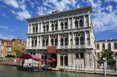 Italy Venezia - Palazzo Erizzo Stock Images