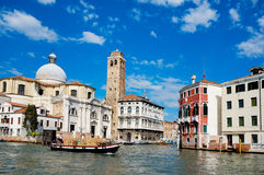 Italy Venezia - San Marcuola. Italy Venezia Canalazzo, this is a San Marcuolavery beautiful Stock Images