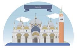 italy venice royaltyfri illustrationer