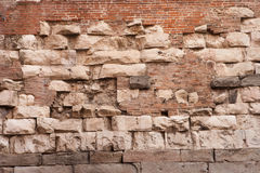 Italy, Venice, ancient brick wall Stock Photo