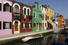 Italy, Venice, Burano Stock Photography