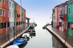 Italy, Venice: Burano Island Stock Images