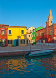 Italy Venice Burano island Royalty Free Stock Photography