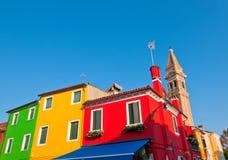 Italy Venice Burano island Stock Image
