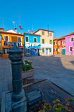 Italy Venice Burano island Stock Photos