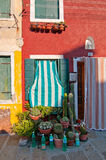 Italy Venice Burano island Royalty Free Stock Photo