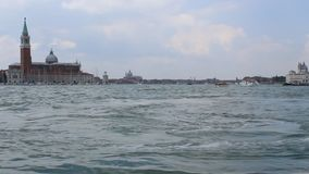Italy, Venice,canals and boats inm summer stock video footage