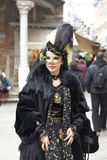 Italy,Venice carnival. Royalty Free Stock Photo