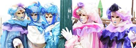 Italy Venice Carnival masks Stock Photo