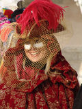 Italy. Venice. Carnival. People in masks Stock Photo