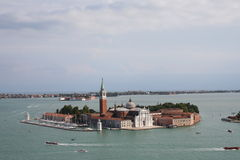 Italy - Venice castle in the water. Castle in the water from Venice Royalty Free Stock Photography