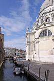 Italy. Venice. The Cathedral of Santa Maria della Salute. Details Royalty Free Stock Photo