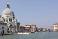 Italy. Venice. The Cathedral of Santa Maria della Salute Royalty Free Stock Photo