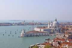 Italy. Venice. The Cathedral of Santa Maria della Salute Royalty Free Stock Image