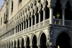 Italy, Venice, doges palace. Horizontal picture stock images