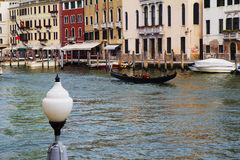 Italy. Venice. The Grand canal. Royalty Free Stock Image