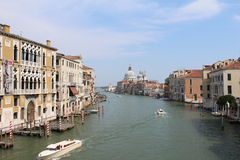 Italy, Venice, Grand canal Stock Photography