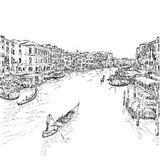 Italy. Venice - Grand Canal Stock Image