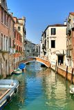Italy. Venice. Grand and small canals and architecture royalty free stock images