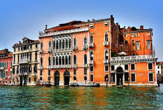 Italy. Venice. Grand and small canals and architecture, - palaces royalty free stock images