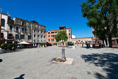 Italy, Venice. Jewish quarter, ghetto Royalty Free Stock Photos