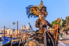 italy venice karneval venice Royaltyfria Bilder