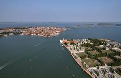 Italy, Venice, Murano Island, St. Michele Island Stock Image