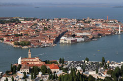 Italy, Venice, Murano Island, St. Michele Island Stock Photo