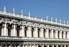 Italy. Venice. Palazzo ducale Stock Image