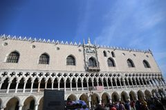 Italy Venice Palazzo Ducale 20/10/2018 stock images