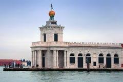 Italy, Venice: Punta della Dogana Stock Images