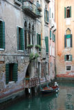 Italy. Venice. Romantic canal Stock Image