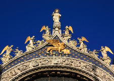 Italy Venice Saint Mark's Basilica Royalty Free Stock Photos