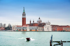 Italy, Venice: San Giorgio Maggiore Island Royalty Free Stock Image