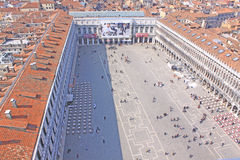 Italy. Venice. San Marco square. Piazza San Marco Royalty Free Stock Image