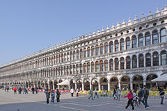 Italy. Venice. San Marco square. Piazza San Marco Royalty Free Stock Images