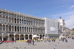 Italy. Venice. San Marco square. Piazza San Marco Stock Image