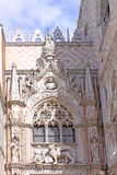 Italy. Venice. St Mark's Basilica. Details Stock Image