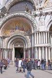 Italy. Venice. St Mark's Basilica. royalty free stock photo