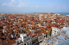 Italy. Venice.  Top view Stock Images